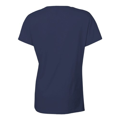 Custom Printed Bella + Canvas 6405 Ladies' Relaxed Jersey Short Sleeve V-Neck Tee - 3 - Back View | ThatShirt