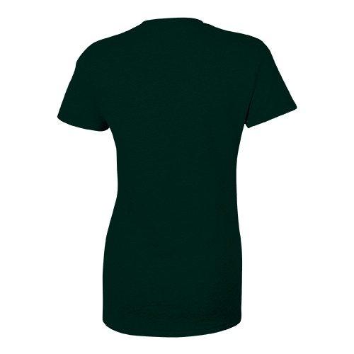 Custom Printed Bella + Canvas 8413 Ladies' Tri-Blend  T-shirt - 6 - Back View | ThatShirt