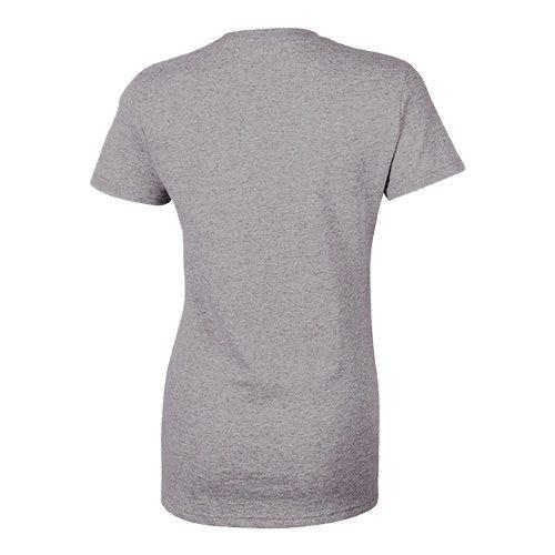 Custom Printed Bella + Canvas 8413 Ladies' Tri-Blend  T-shirt - 8 - Back View   ThatShirt