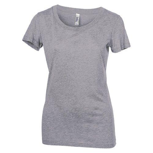 Custom Printed Bella + Canvas 8413 Ladies' Tri-Blend  T-shirt - Front View   ThatShirt