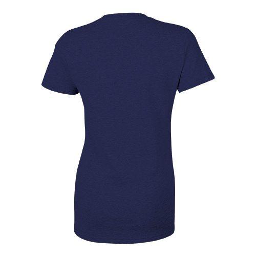 Custom Printed Bella + Canvas 8413 Ladies' Tri-Blend  T-shirt - 10 - Back View | ThatShirt