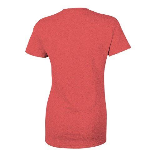 Custom Printed Bella + Canvas 8413 Ladies' Tri-Blend  T-shirt - 14 - Back View | ThatShirt