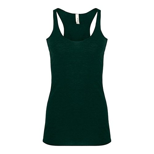 Custom Printed Bella + Canvas 8430 Ladies' Triblend Racerback Tank - Front View | ThatShirt