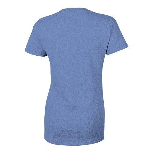 Custom Printed Bella + Canvas 8435 Ladies' Triblend Deep V-Neck Tee - 2 - Back View | ThatShirt