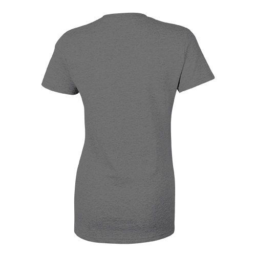 Custom Printed Bella + Canvas 8435 Ladies' Triblend Deep V-Neck Tee - 5 - Back View | ThatShirt