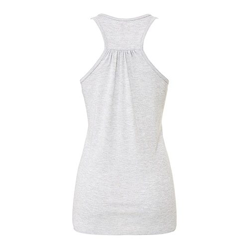 Custom Printed Bella + Canvas B8800 Ladies' Flowy Racerback Tank - 1 - Back View | ThatShirt