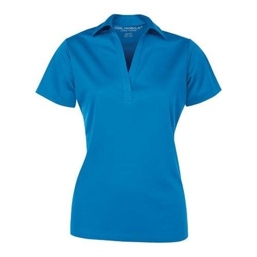 Custom Printed Coal Harbour L4007 Ladies' Everyday Sport Shirt - Front View   ThatShirt