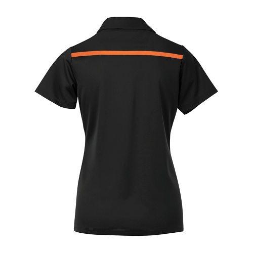 Custom Printed Coal Harbour L4008 Ladies' Everyday Colour Block Sport Shirt - 1 - Back View   ThatShirt