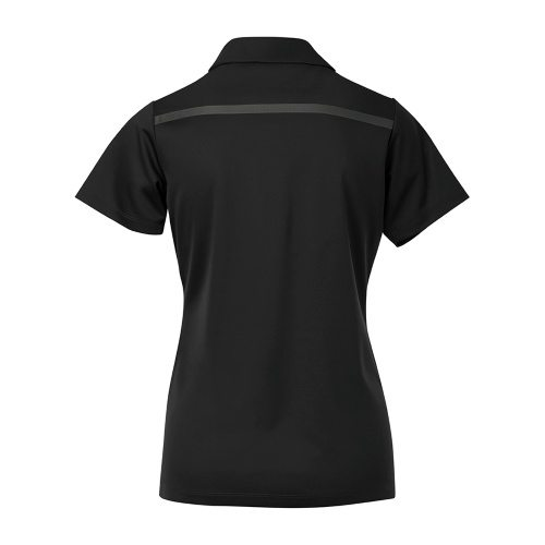 Custom Printed Coal Harbour L4008 Ladies' Everyday Colour Block Sport Shirt - 3 - Back View | ThatShirt