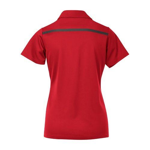 Custom Printed Coal Harbour L4008 Ladies' Everyday Colour Block Sport Shirt - 4 - Back View | ThatShirt