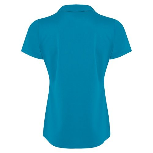 Custom Printed Coal Harbour L4015 Ladies' City Tech Sport Shirt - 1 - Back View | ThatShirt