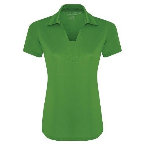 Custom Printed Coal Harbour L4015 Ladies' City Tech Sport Shirt - Front View | ThatShirt