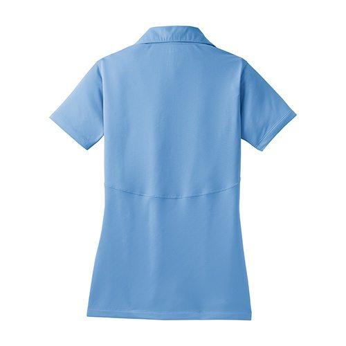 Custom Printed Coal Harbour L445 Ladies' Snag Resistant Tricot Sport Shirt - 0 - Back View | ThatShirt