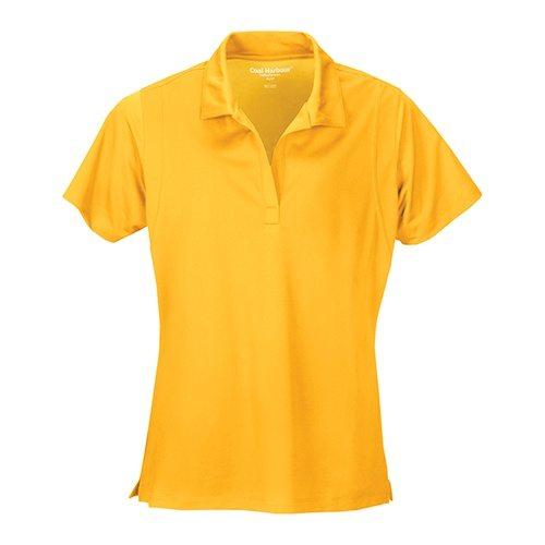 Custom Printed Coal Harbour L445 Ladies' Snag Resistant Tricot Sport Shirt - Front View   ThatShirt