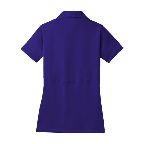 Custom Printed Coal Harbour L445 Ladies' Snag Resistant Tricot Sport Shirt - 8 - Back View | ThatShirt