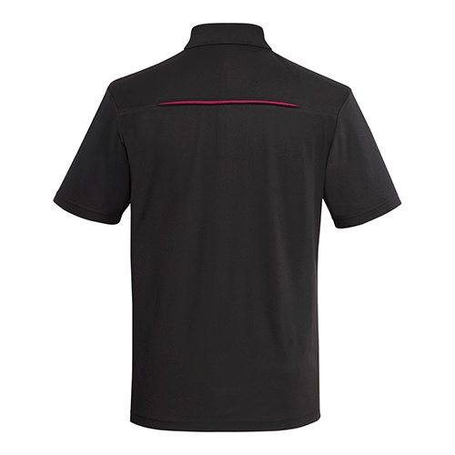 Custom Printed Coal Harbour S4002 Snag Resistant Contrast Inset Sport Shirt - 0 - Back View | ThatShirt