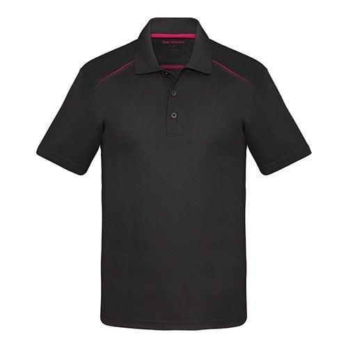 Custom Printed Coal Harbour S4002 Snag Resistant Contrast Inset Sport Shirt - Front View | ThatShirt