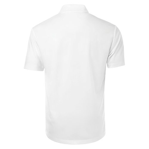 Custom Printed Coal Harbour S4007 Everyday Sport Shirt - White - Back View | ThatShirt