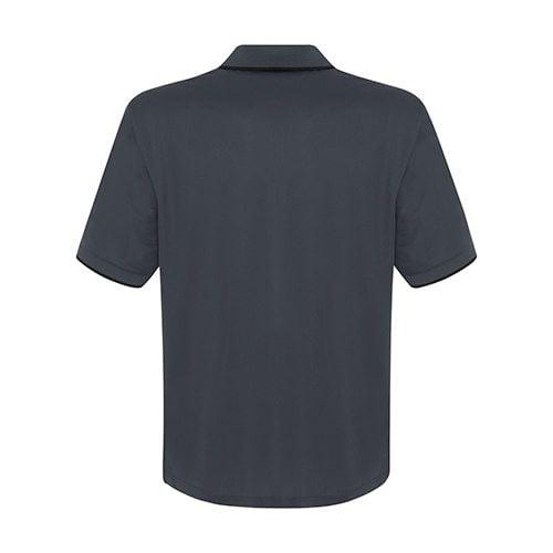 Custom Printed Coal Harbour S4018 Snag Resistant Tipped Collar Sport Shirt - 3 - Back View   ThatShirt