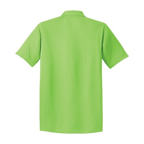 Custom Printed Coal Harbour S445 Snag Resistant Tricot Sport Shirt - 3 - Back View | ThatShirt