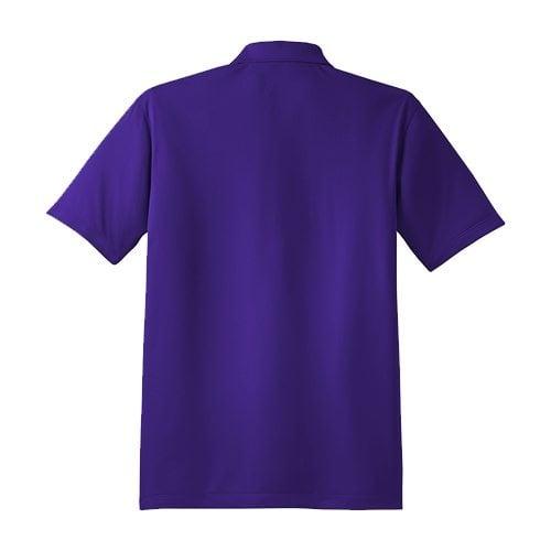 Custom Printed Coal Harbour S445 Snag Resistant Tricot Sport Shirt - 7 - Back View   ThatShirt