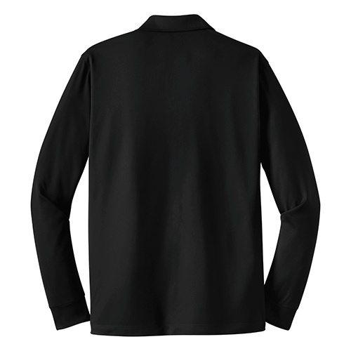Custom Printed Coal Harbour S445LS Snag Resistant Longsleeve Sport Shirt - 1 - Back View | ThatShirt