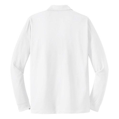 Custom Printed Coal Harbour S445LS Snag Resistant Longsleeve Sport Shirt - 5 - Back View | ThatShirt