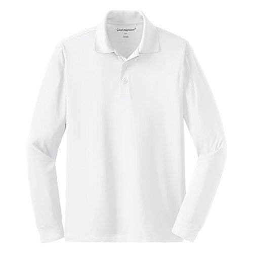 Custom Printed Coal Harbour S445LS Snag Resistant Longsleeve Sport Shirt - Front View | ThatShirt