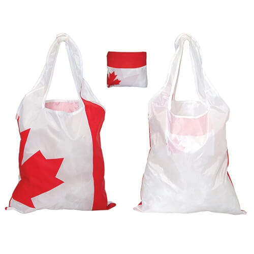 Custom Printed Debco F0701 Folding Canada Tote - 0 - Back View | ThatShirt