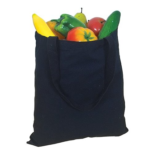 Custom Printed Debco E1000 Cotton Canvas Tote Bag - Front View | ThatShirt