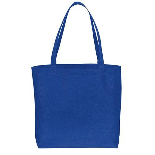 Custom Printed Debco 2950 Non Woven Tote Bag - 6 - Back View | ThatShirt