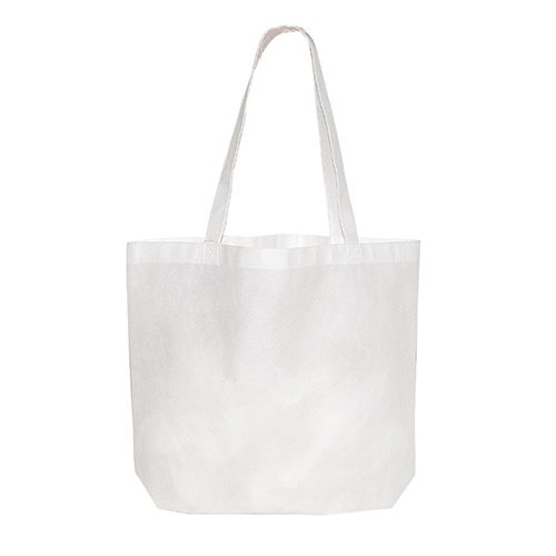 Custom Printed Debco 2950 Non Woven Tote Bag - 7 - Back View | ThatShirt