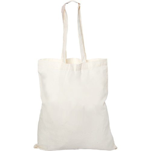 Custom Printed Debco E8000 Cotton Canvas Tote Bag - Front View | ThatShirt