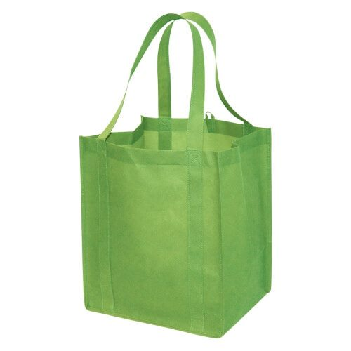 Custom Printed NW8008 Jumbo Non Woven Tote - Front View | ThatShirt