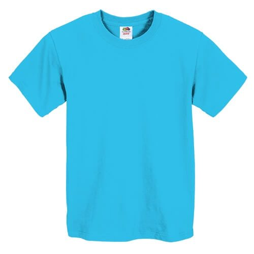 Fruit of the Loom 3930BR Youth Heavy Cotton HD T-Shirt