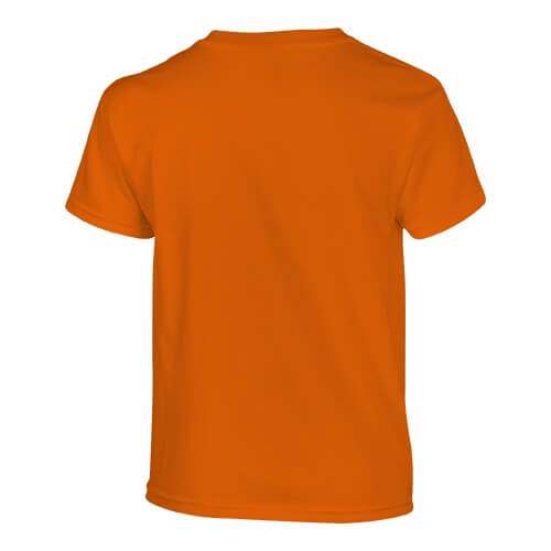 Custom Printed Fruit of the Loom 3930BR Youth Heavy Cotton HD T-Shirt - 6 - Back View | ThatShirt