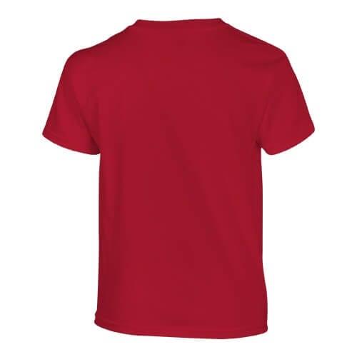 Custom Printed Fruit of the Loom 3930BR Youth Heavy Cotton HD T-Shirt - 19 - Back View   ThatShirt