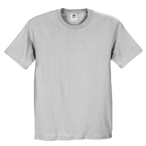Custom Printed Fruit of the Loom 3930R Heavy Cotton HD T-Shirt - Front View | ThatShirt
