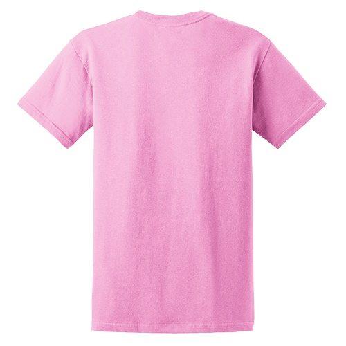 Custom Printed Fruit of the Loom 3930R Heavy Cotton HD T-Shirt - 3 - Back View | ThatShirt