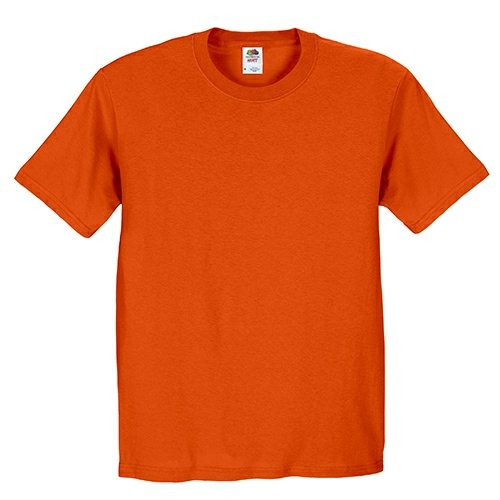 Custom Printed Fruit of the Loom 3930R Heavy Cotton HD T-Shirt - 5 - Front View | ThatShirt