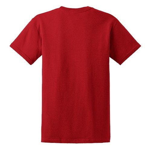 Custom Printed Fruit of the Loom 3930R Heavy Cotton HD T-Shirt - 6 - Back View | ThatShirt