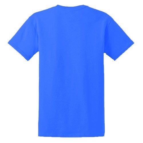 Custom Printed Fruit of the Loom 3930R Heavy Cotton HD T-Shirt - 10 - Back View | ThatShirt