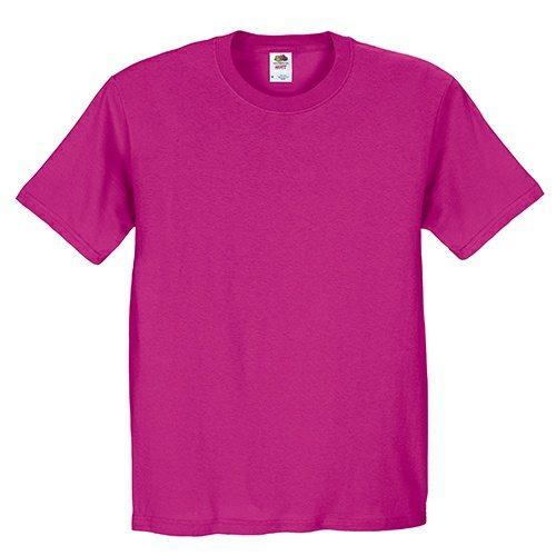 Custom Printed Fruit of the Loom 3930R Heavy Cotton HD T-Shirt - Front View   ThatShirt