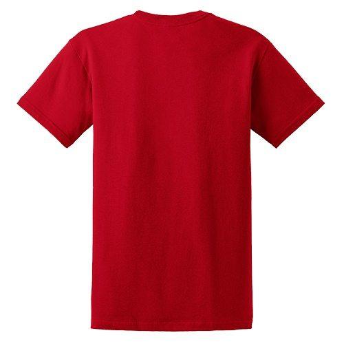 Custom Printed Fruit of the Loom 3930R Heavy Cotton HD T-Shirt - 23 - Back View | ThatShirt