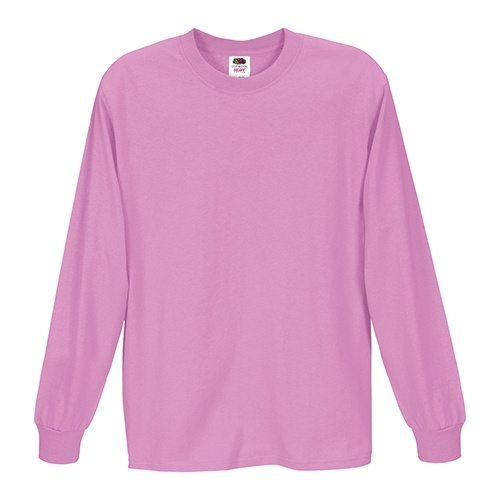 Fruit of the Loom 4930R Heavy Cotton HD Long Sleeve T-shirt