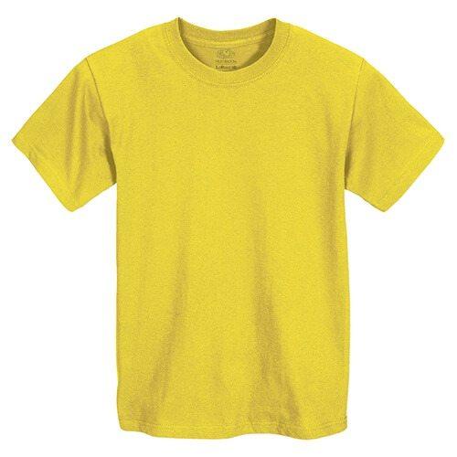 Custom Printed Fruit of the Loom HD6BY Youth Lofteez HD T-Shirt - Front View | ThatShirt
