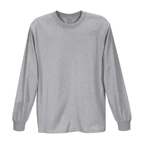 Custom Printed Fruit of the Loom HD6LR Lofteez HD Long-Sleeve T-Shirt - Front View | ThatShirt