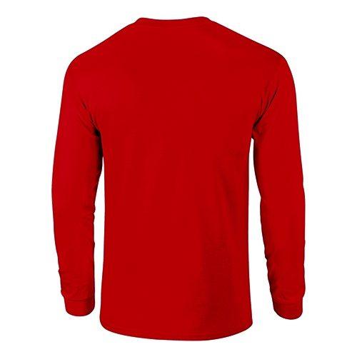 Custom Printed Fruit of the Loom HD6LR Lofteez HD Long-Sleeve T-Shirt - 0 - Back View | ThatShirt