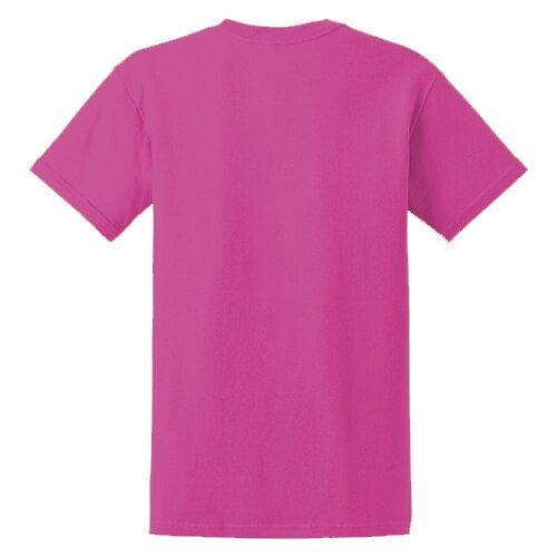 Custom Printed Fruit of the Loom HD6R Lofteez HD T-Shirt - 8 - Back View | ThatShirt