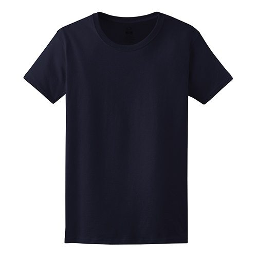 Custom Printed Fruit of the Loom L3930R Ladies' Heavy Cotton HD T-Shirt - Front View | ThatShirt